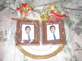 Chocolate Picture Frame Party Favor Birthday Set of 12 - $36.00