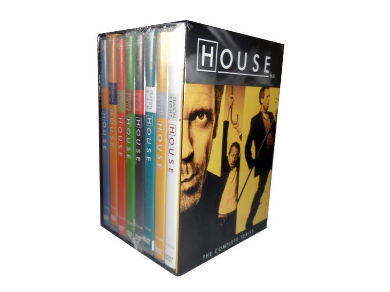 House M D The Complete Series Seasons 1-8 DVD Box Set 41 Disc Free Shipping