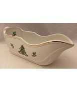 """Holiday Hostess/Home for the Holidays brand - large Gravy Boat - 10"""" long EUC - $5.89"""