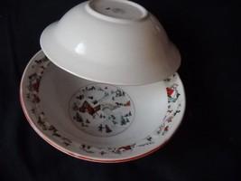 Katherine Babonovsky White Christmasfruit bowl (6 sets available) - $13.99