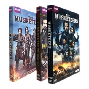 The Musketeers The Complete Seasons 1-3 1.2.3 DVD Box Set 9 Disc Free Shipping