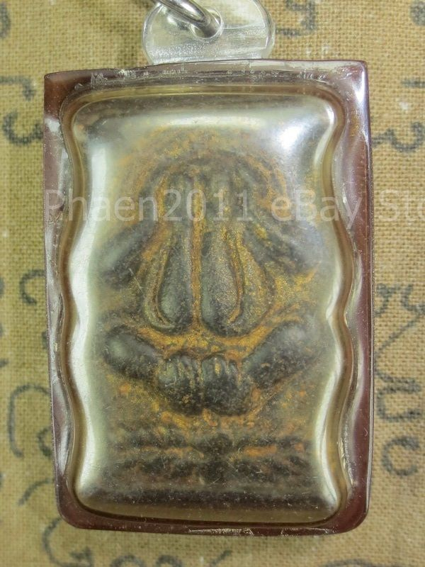 Primary image for Holy Antique Pra Pidta-Boran Top Power of Protective Thai Buddha Amulets Ama006