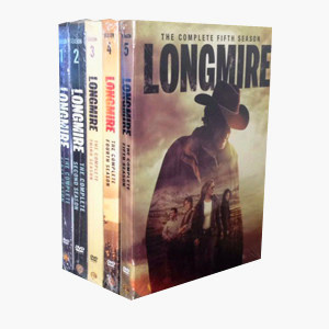 Longmire The Complete Seasons 1-5 1,2,3,4,5 DVD Box Set 13 Disc Free Shipping