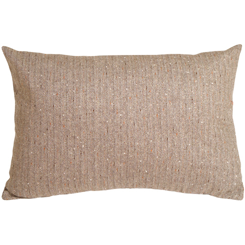 Primary image for Pillow Decor - Herringbone Brown Rectangular Decorative Toss Pillow