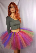 Festive Rainbow Tutu: Available in Child and Adult Sizes - $10.00+