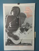 Vintage Jimi Hendrix 1973 Movie Poster  Jimi Pl... - $54.70
