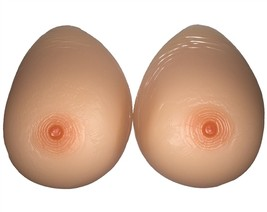 Envy Body Shop Size 24 Extra Large Sexy Silicone Breast Forms - $380.45