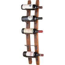 Wine Rack Wood Liquor Bar Bottle Holder Storage Wall Mount Furniture Hom... - $164.99