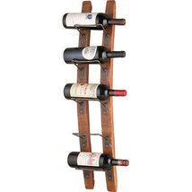 Wine Rack Wood Liquor Bar Bottle Holder Storage... - $164.99