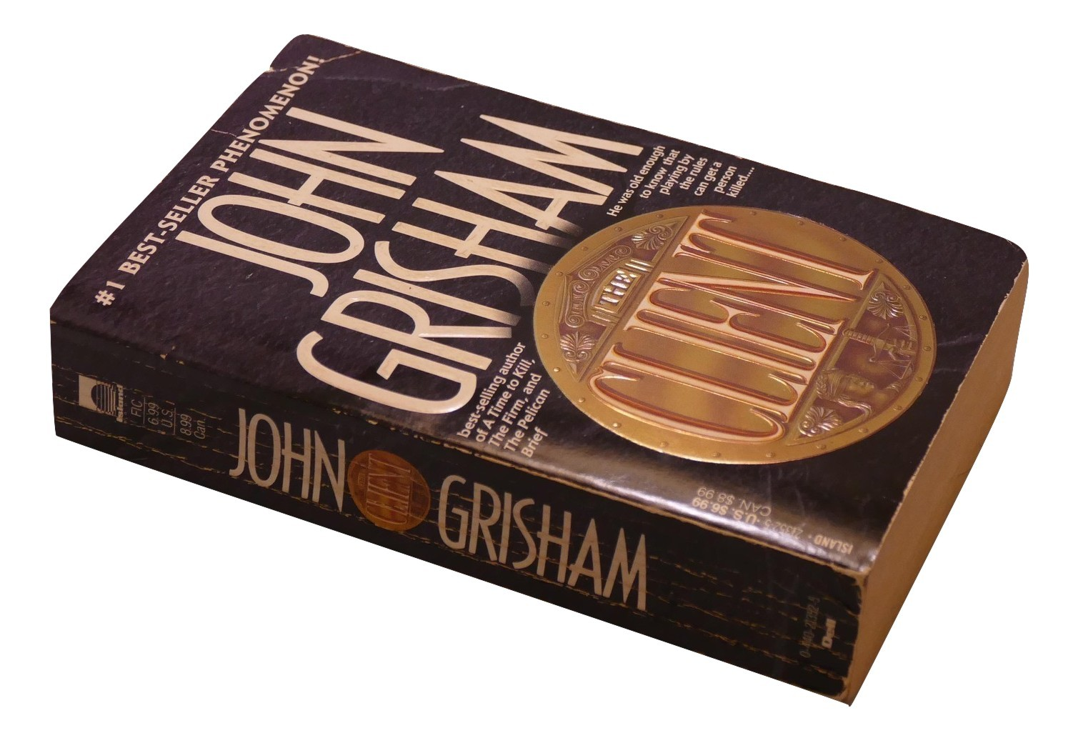 Primary image for John Grisham The Client Paperback Book Fiction