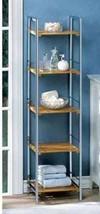 14709 Accent Plus Sleek Osaka Bamboo Shelf - $99.95