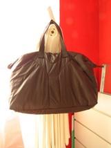 e8f9baf225 New amp  Authentic YVES SAINT LAURENT Nylon Puffer Top Handle Bag Brown -  £503.72 GBP