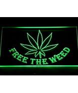 LED neon light sign marijuana leaf   - $24.99