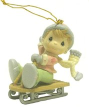 """Precious Moments """"Home for the Holidays"""" 1995 Collection Christmas Ornament - Bo - $19.79"""