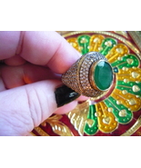 PARANORMAL COLLECTION POWER Bahai  DJINN INSPIRED RING SIZE 9 - $750.00