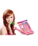 6pc Magic SOFT twisty BENDY HAIR curly ROLLERS ... - $0.99