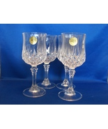 CRISTAL d'ARQUES Set of  4 Longchamp Pattern  C... - $16.99