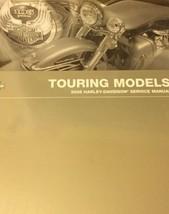 2008 Harley Davidson TOURING MODELS Service Shop Manual W Electrical Parts Bk + - $336.55