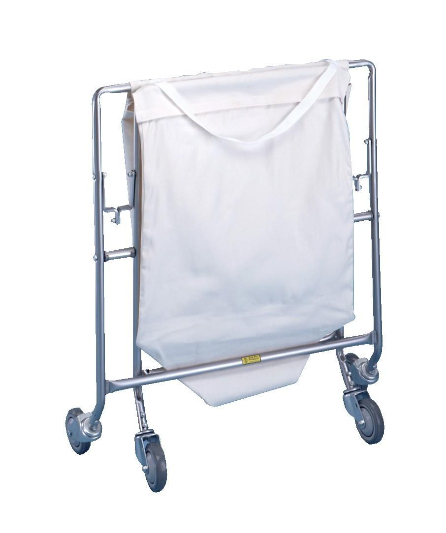 "Collapsible Hamper w Canvas Bag (31"" x 191/2"") Model Number 652C"