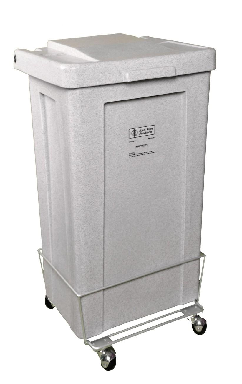 4 1/2 Bushel Poly Laundry Hamper Model Number 695