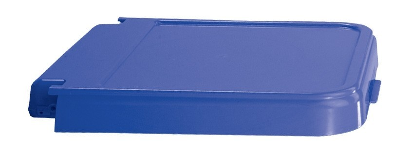 ABS Crack Resistant Replacement Lid, Blue Model Number 602B