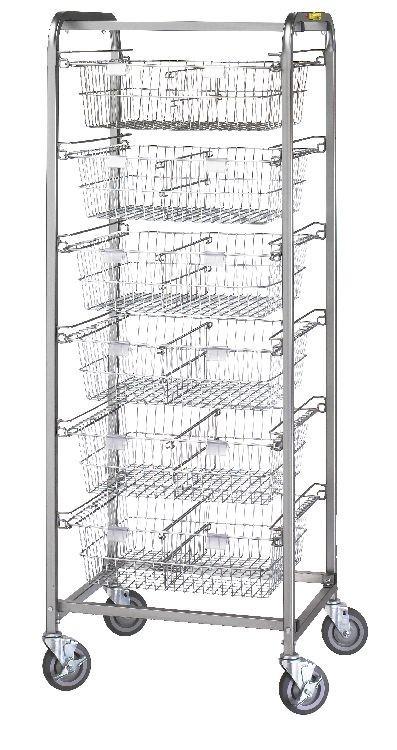 Six Basket Resident Item Cart Model Number 1006