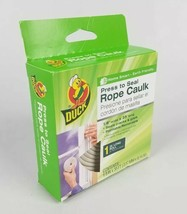 Press to Seal Rope Caulk White 1/8-Inch Wide x 35-Feet Long Duck Brand New - $10.52