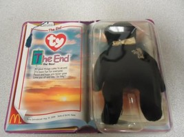 1999 Collectible McDonalds Ty Teeny Beanie Baby THE END Bear Mint New Se... - $4.75