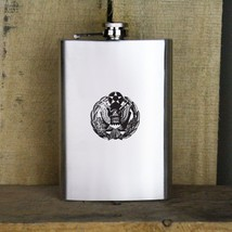 Distressed Air Force Headquarters Badge Veteran Stainless Steel Flask - €16,07 EUR