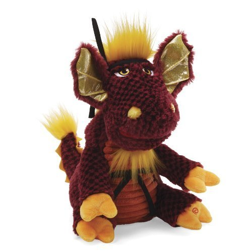 DRAGON Ninja MAGNUS Animated Gund Plush Toy NEW Adorable He Speaks & Moves