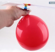 Colorful Balloon Helicopter Aircraft Flying Toy - One Item w/Random Color and... image 6