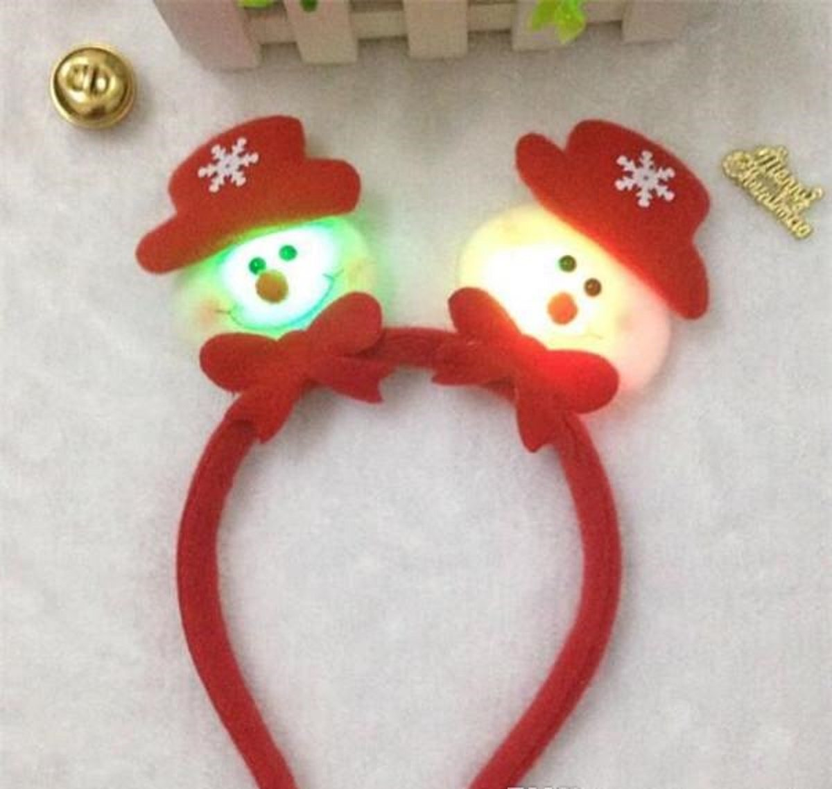 LED Light Hair Band Headband - One item with random color or design