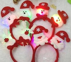 LED Light Hair Band Headband - One item with random color or design image 3