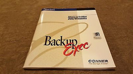 User guide Backup Exec Minicatridge DOS/Windows - $9.00
