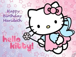 Hello Kitty - (A) Edible Cake Topper - $9.99