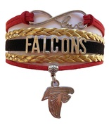 Atlanta Falcons Football Fan Shop Infinity Bracelet Jewelry - $9.99