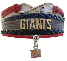 New York Giants Football Fan Shop Infinity Bracelet Jewelry - $9.99