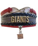 New York Giants Football Fan Shop Infinity Bracelet Jewelry - $9.99