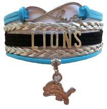 Detroit Lions Football Fan Shop Infinity Bracel... - $9.99