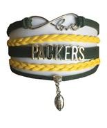 Green Bay Packers Football Fan Shop Infinity Bracelet Jewelry - $9.99
