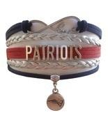 New England Patriots Football Fan Shop Infinity Bracelet Jewelry - $9.99