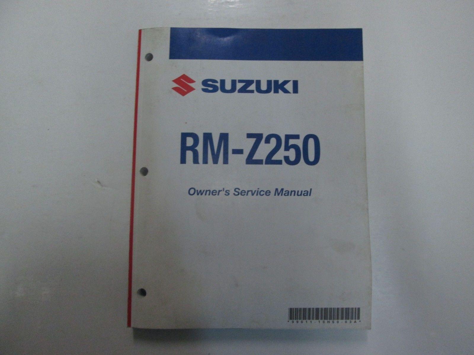 2007 suzuki rm z250 rmz250 owners service and similar items rh bonanza com 2007 RMZ 250 2007 RMZ 250