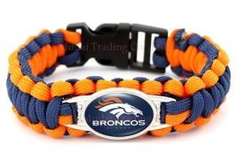 Denver Broncos Football Fan Shop Unisex Paracord Wristband - $14.99