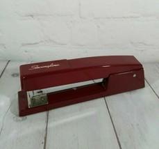 Vintage Swingline  Full Size Stapler (Burgundy) All Metal - USA Functional - $19.75