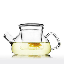 UNIHOM - TORNOS Handmade Glass Infuser Teapot Kettle With Filter 600ml/1.1L - $22.18