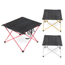 USSTOCK 1Color Only Outdoor Lightweight Aluminum Folding Table Portable ... - $22.65