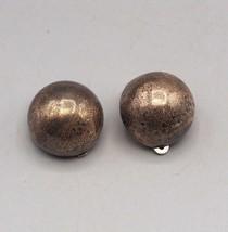 Vintage Sterling Silver Clip On Earrings - $52.46