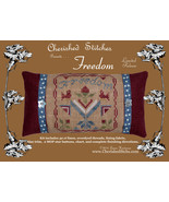 CLEARANCE Freedom Limited Edition Kit cross stitch kit Cherished Stitches  - $16.00