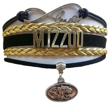 University of Missouri Tigers MIZZOU Fan Shop Infinity Bracelet Jewelry - $12.99