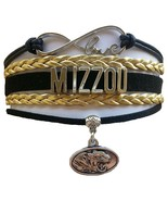University of Missouri Tigers MIZZOU Fan Shop Infinity Bracelet Jewelry - $12.99